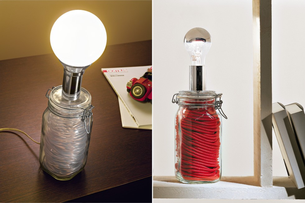 Lampada Barattolo Vetro : Lampada barattolo vetro più di fantastiche idee su lampada