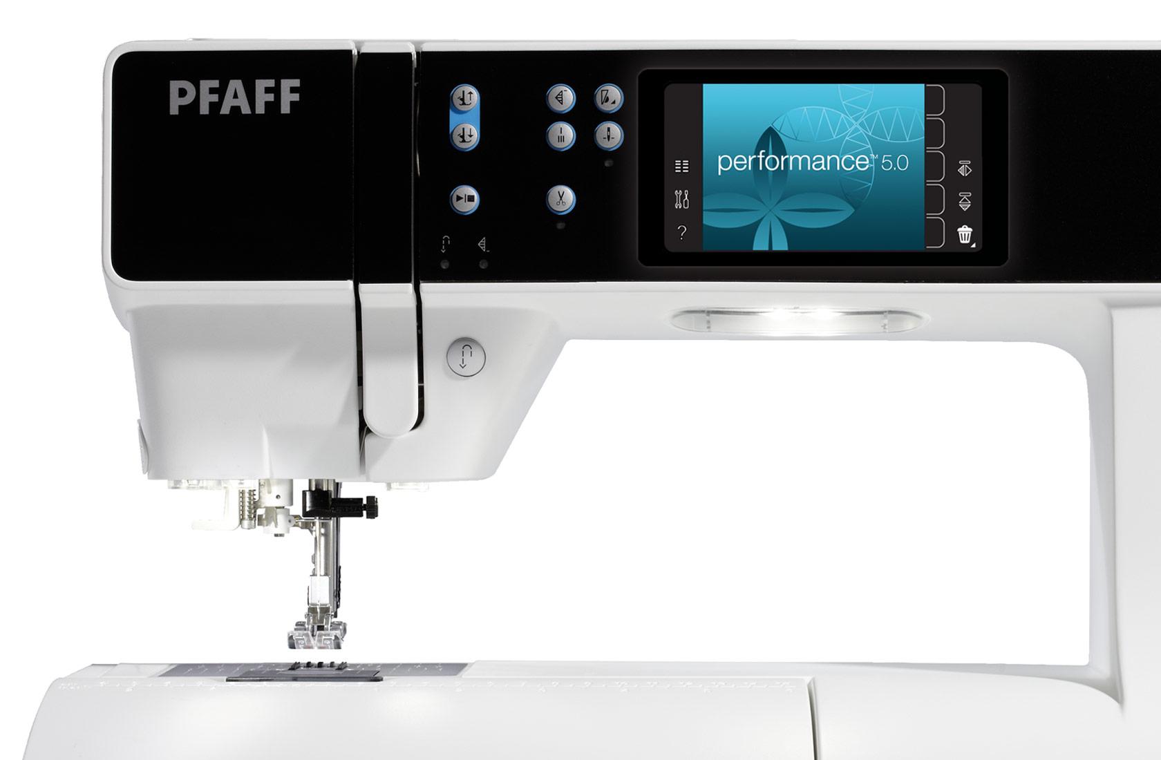 Pfaff performance 5 0 macchine per cucire elettroniche for Pfaff macchine per cucire